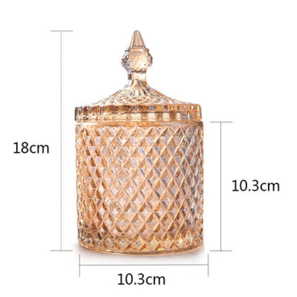 Ariél Lumiére Crystal Decor Jar