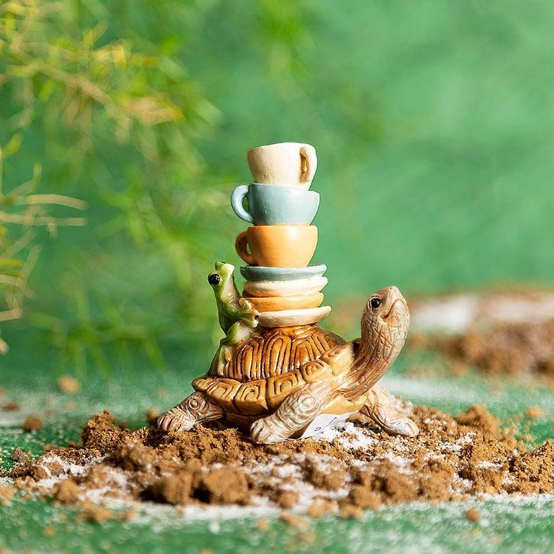 Tortuga With Cups Mini Object