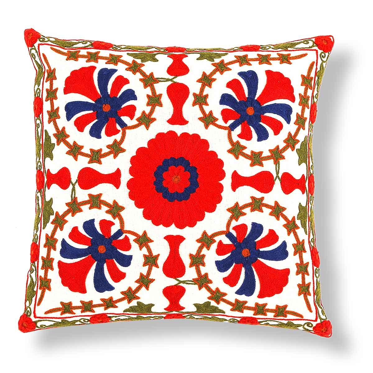 Palmier  18 In X 18 In Multi Cushion Cover