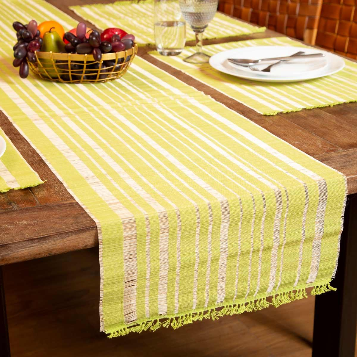 Chic Table Runner Green