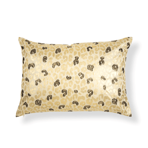 Carole 14 In X 20 In Gold Cushion Cover