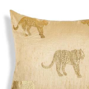 Irate 20 In X 20 In Beige Cushion Cover