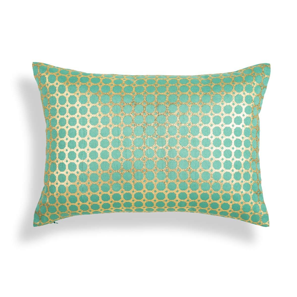 Alani 14 In X 20 In Green Cushion Cover