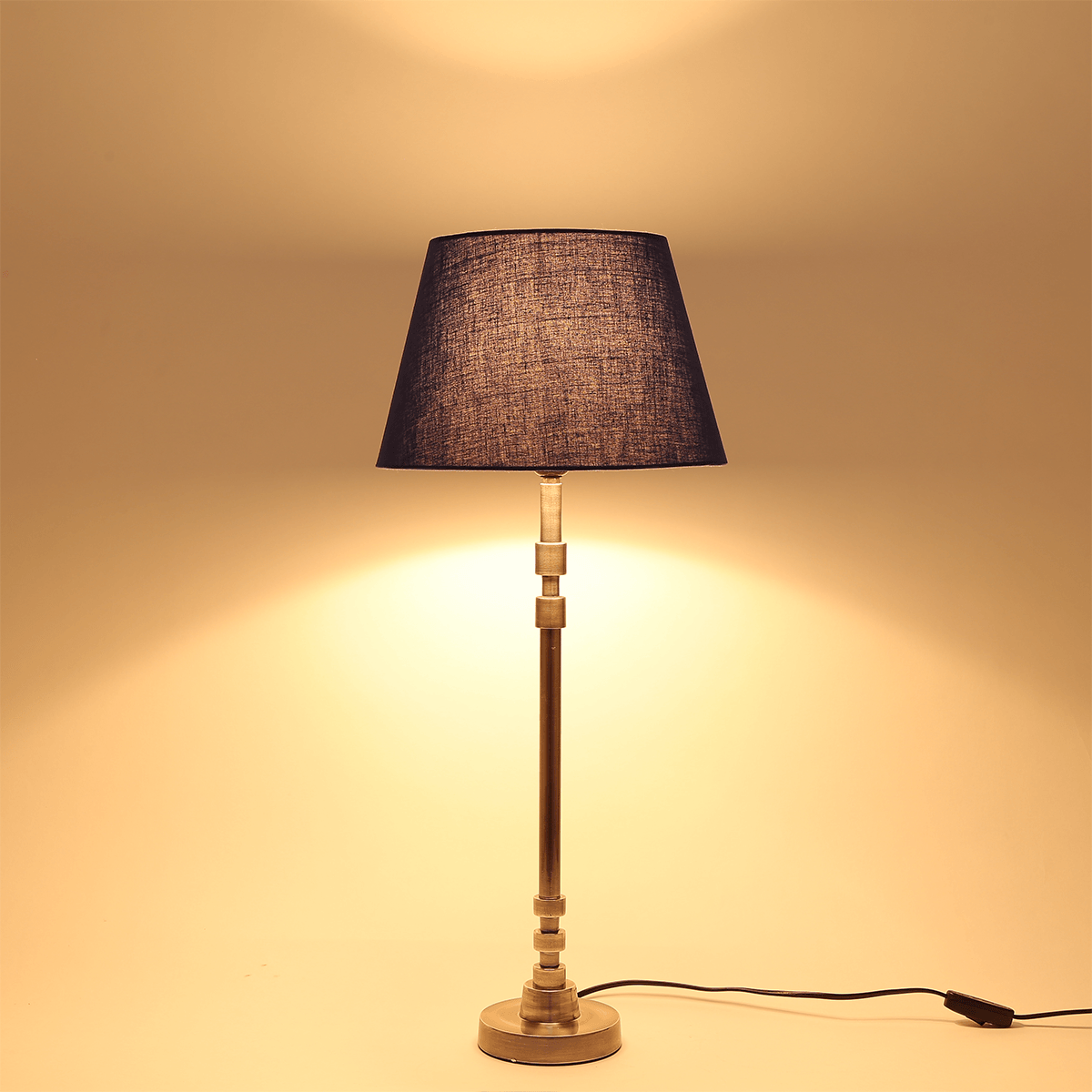Passo Silver Table Lamp