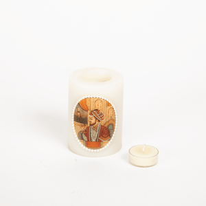 Mughal King Candle Small