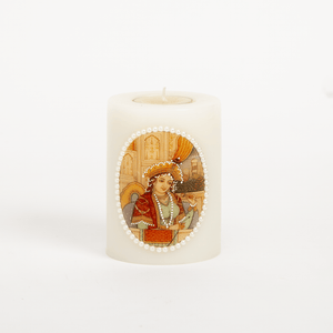 Mughal Queen Candle Small