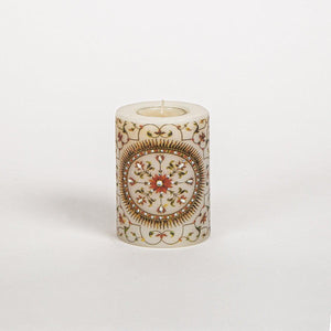 Zia Inlay Candle Small