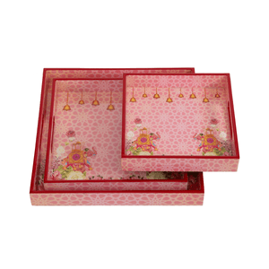 Abhinandan Serving Tray Set of 3