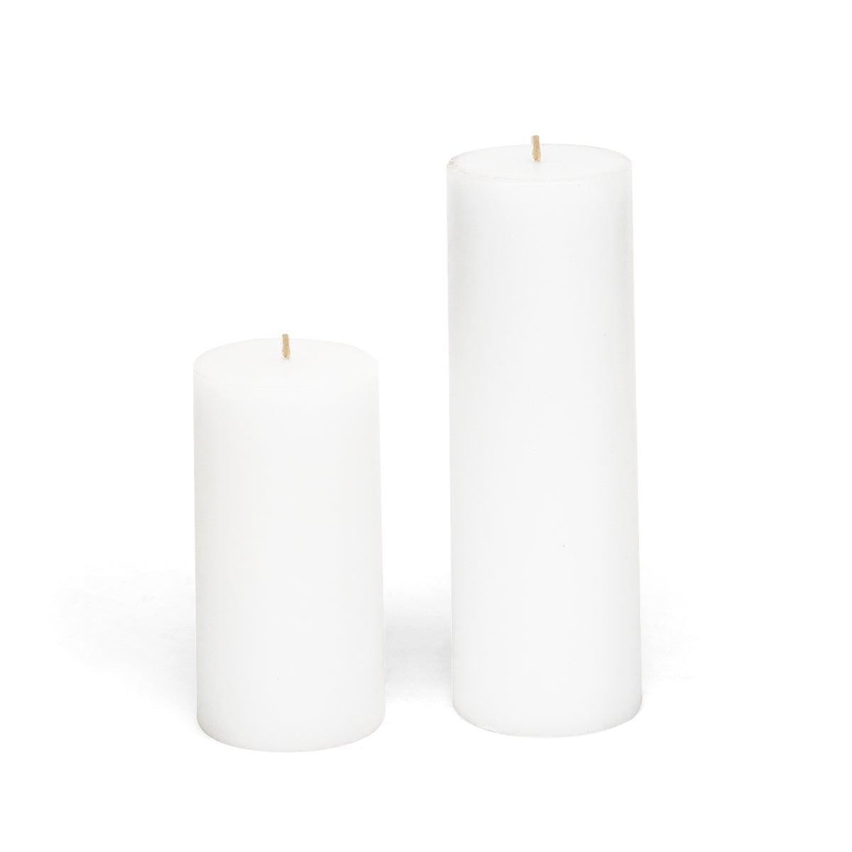 "White Pillar Candle 3"" x 6"""