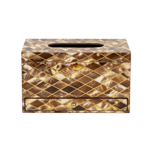 Jamica Tissue Box with Drawer