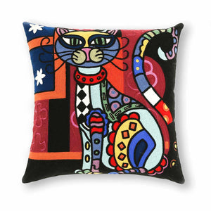 Chatte  18 In X 18 In Multi Cushion Cover