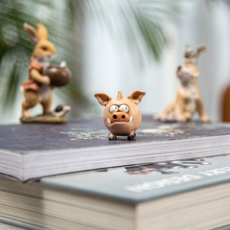 Pig Poult Brown Mini Object