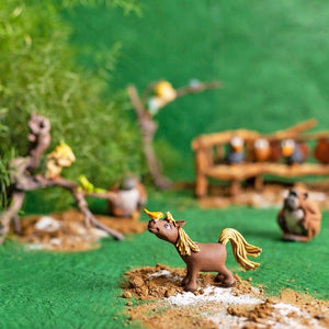 Playing Horse Brown Mini Object