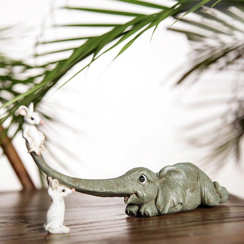 Tuck Elephant Grey Mini Object