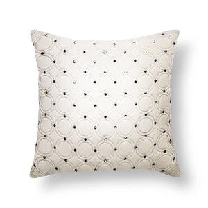 Meridian 18 In X 18 In Ivory Cushion Cover