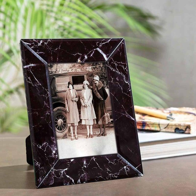 Glass Photo Frames Black