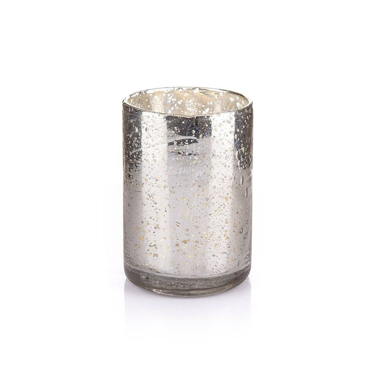 Imani Silver Candle Holder