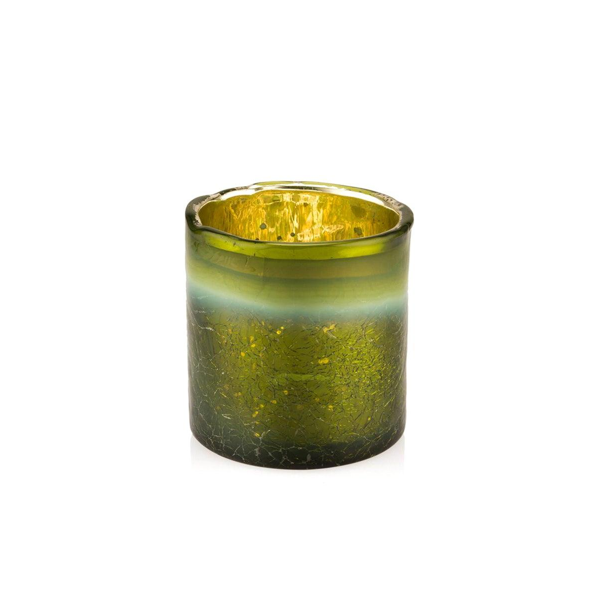 Imani Moss Green Candle Holder