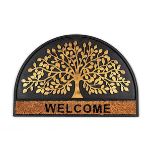 Arbol Black Doormat