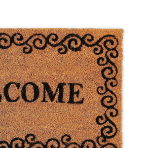 Welcome Natural Doormat