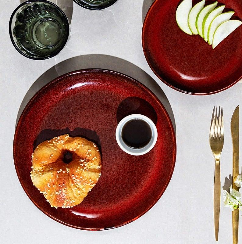 Kuro 10 In Dinner Plate Dove Red