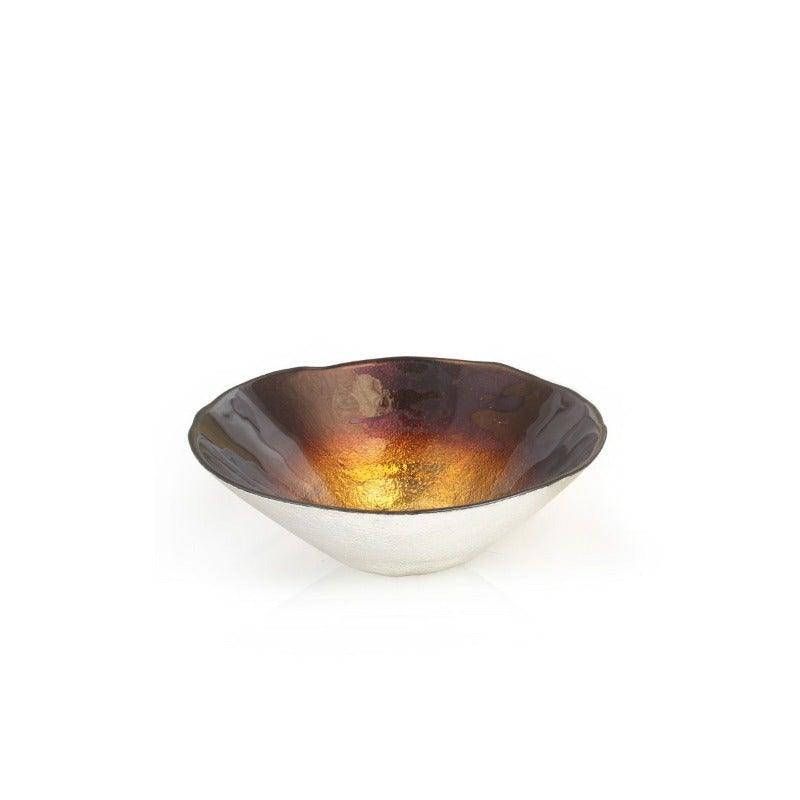 Ant Small Salad Bowl Amber Brown