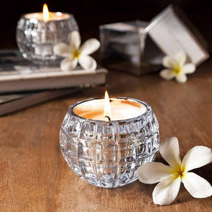 Glow Silver Candle