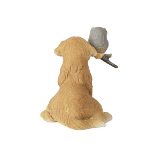 Chien & Hibou Standing Brown Mini Object