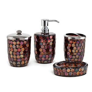 Mozaik Bath Set Of 4
