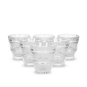 Aba Clear Glass, Set Of 6