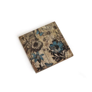 Agbara Coasters With Holder Set Of 6