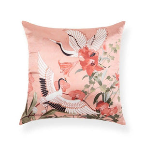 Eden 18 In X 18 In Pink Cushion Cover