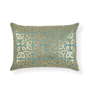 Lumiere 14 In X 20 In Sky Blue Cushion Cover
