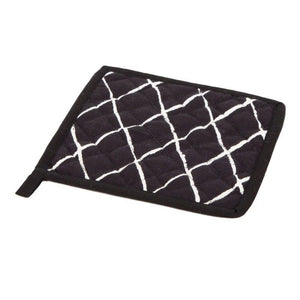 Trapunta Black & White Pot Holder