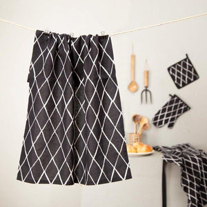 TRAPUNTA  BLACK & WHITE KITCHEN TOWEL
