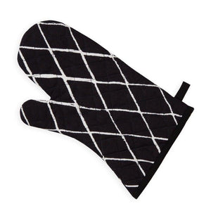 TRAPUNTA BLACK & WHITE OVEN GLOVE