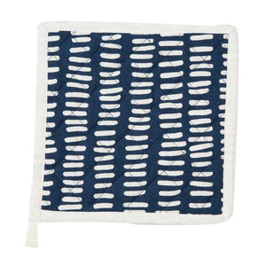 Linije Navy & White Pot Holder