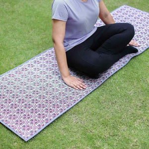 GULLI 24 IN X 72 IN PRINTED MULTI YOGA MAT