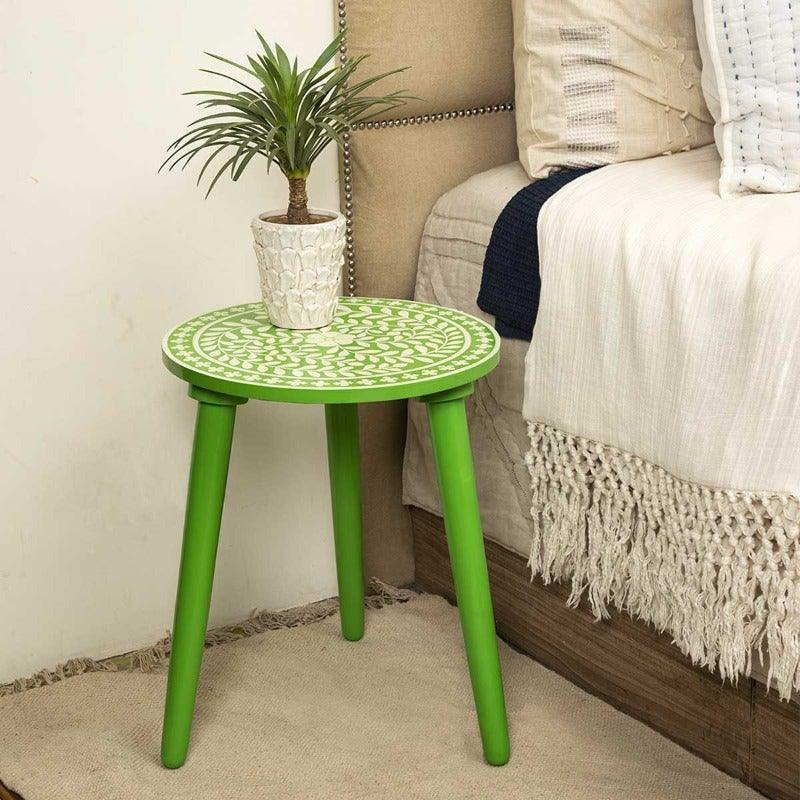 Banqueta Wood Green Stool