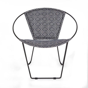 Zeba Iron Fabric Multi Chair