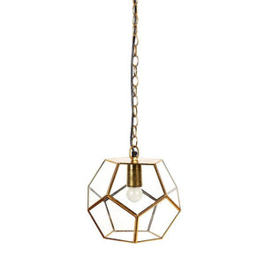 Gozo Gold Hanging Light