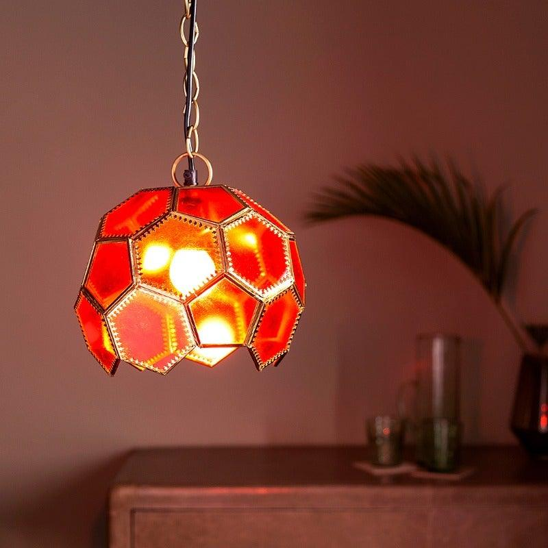 Fiji Red Hanging Light