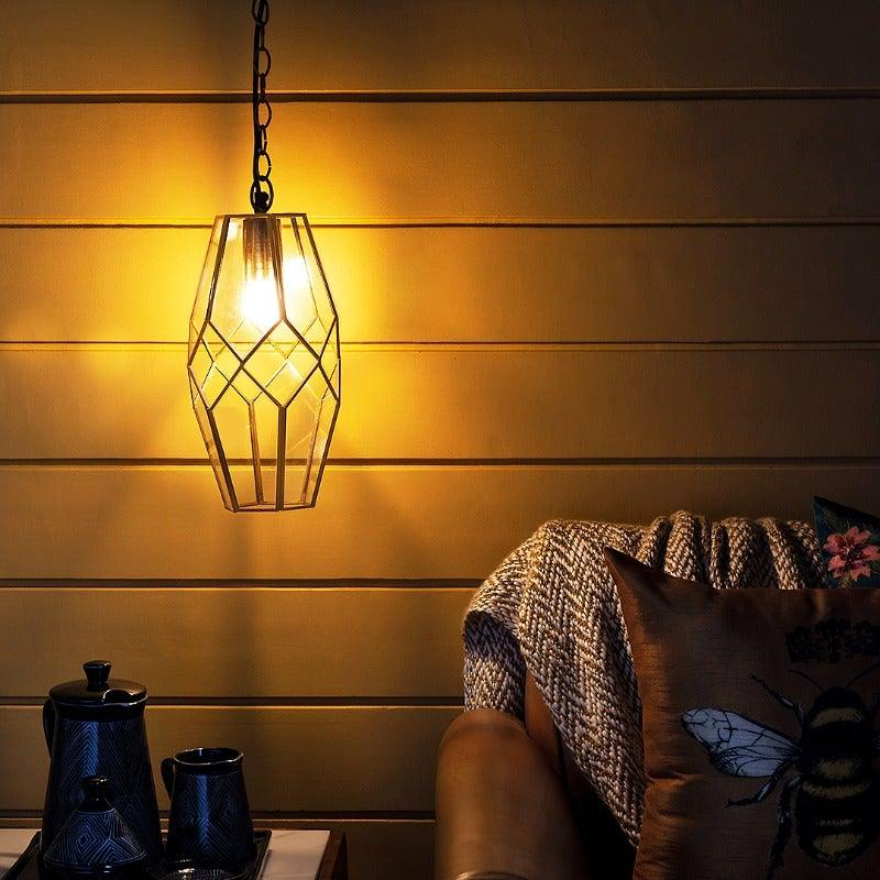 Petra Gold Hanging Light