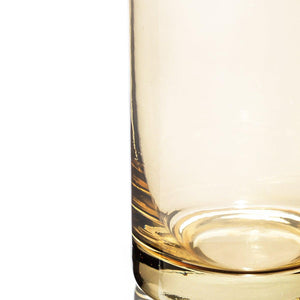 Rung Golden Drinking Glasses Gold Set Of 4 - 310 Ml