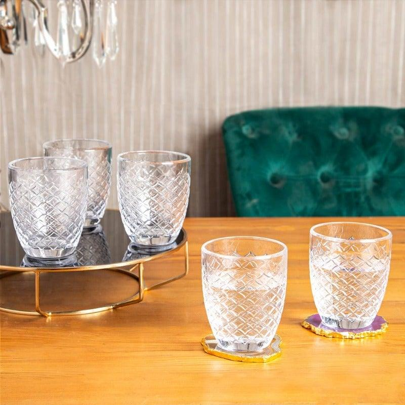 Zaria Clear Set Of 6 Glasses 310 Ml