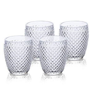 Angelite Drinking Glasses Set Of 4 Clear 320 Ml