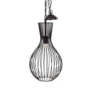 Leora Black Pendant Lamp