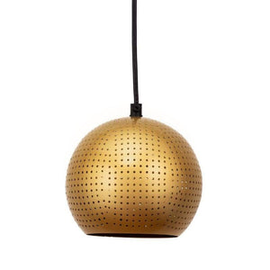 Lucy Gold Hanging Lamp