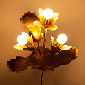 Solana Golden Wall Lights
