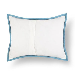 Teesta 18 In X 24 In Blue Cushion Covers Set Of 2